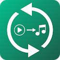 Convert Video to Audio. Any Mp4 to Mp3 Converter. icon