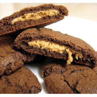 Filled Peanut Butter Cookies.