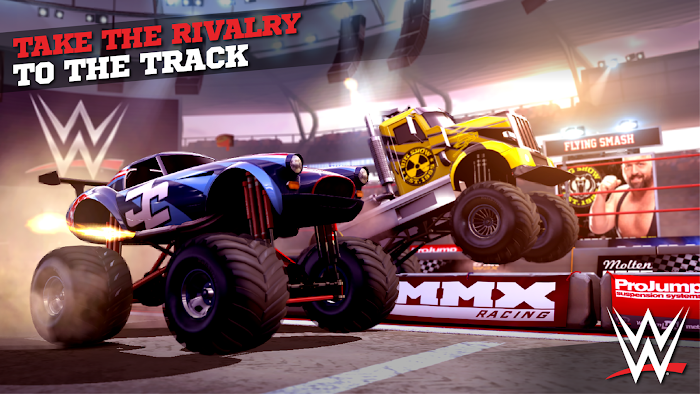 MMX Racing Featuring WWE- screenshot