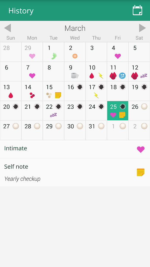 myPill® Birth Control Reminder- screenshot