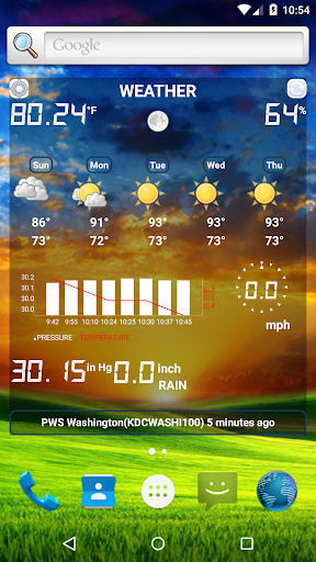 Weather Station screenshot 2