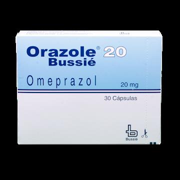 Orazole 20Mg Cápsulas   Caja X30Cap. Bussié Omeprazol