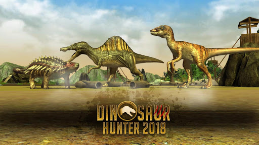 Dinosaur Hunter 2018  captures d'u00e9cran 1