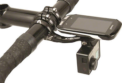 K-Edge Pro Garmin XL Combo Handlebar Mount: 31.8mm, Black alternate image 0