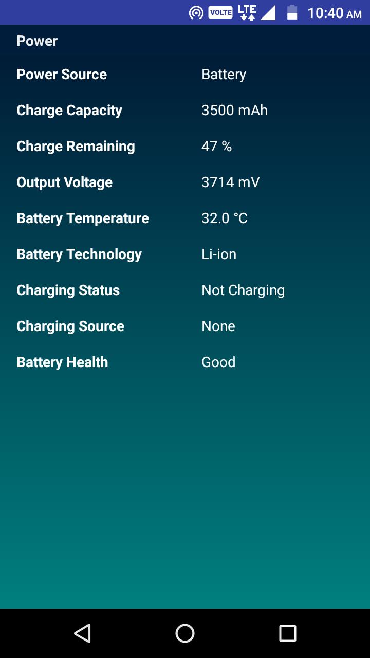 CPU Identifier Screenshot 6