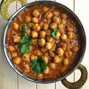 Punjabi Chole  Lunch Special