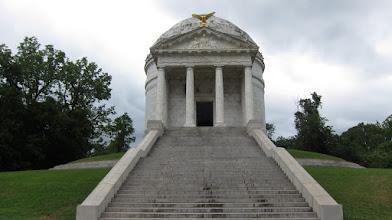 Photo: Civil War anısına Vicksburg'daki anıtlardan biri.