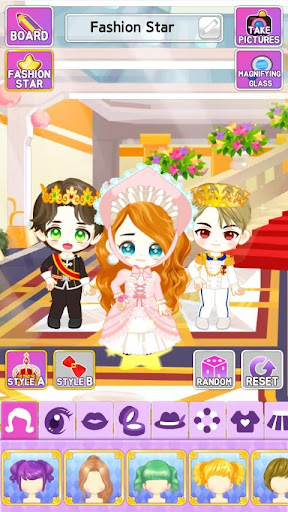 My Fashion Star : Royalty & Nobility style 1.0.10 screenshots 2