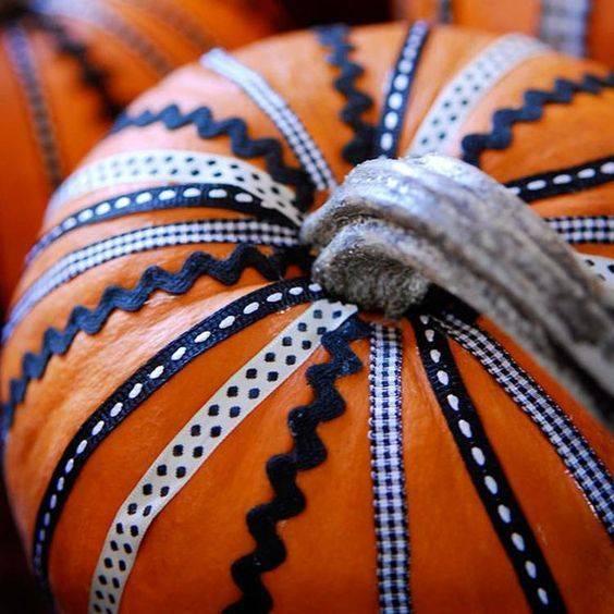 halloweenknutselen met pompoenen