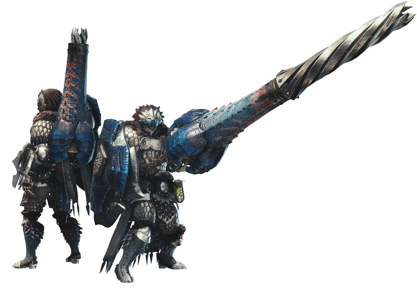 The Best Co-Op A-Tier Weapons lance and gunlance
