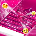 Clavier Couleur Pink Theme icon