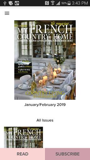 French Country Home Magazine screenshot 1