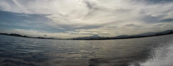 Photo: View of Mount Kinabalue from Kota Kinabalu
