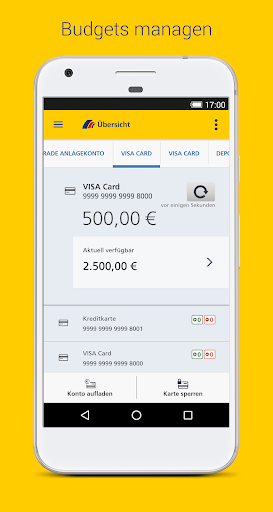 Postbank Finanzassistent  screenshots 1