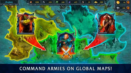 Heroes of War Magic.  Turn-based strategy 1.4.0.3 screenshots 5