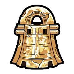 砂利の銅鐸