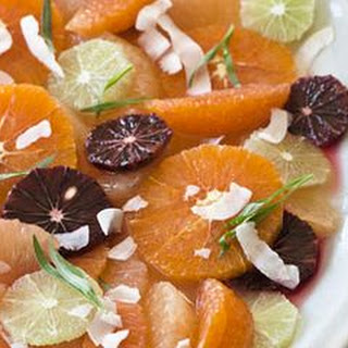Maple-Citrus Salad with Coconut