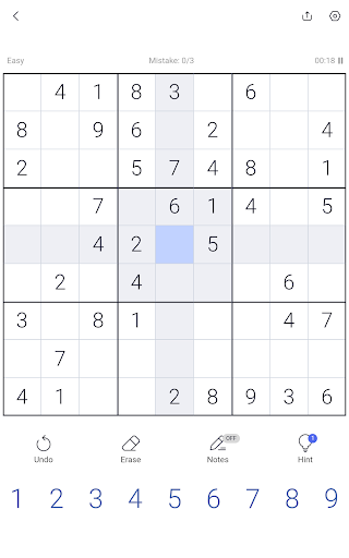 Sudoku - Sudoku puzzle, Brain game, Number game screenshots 17