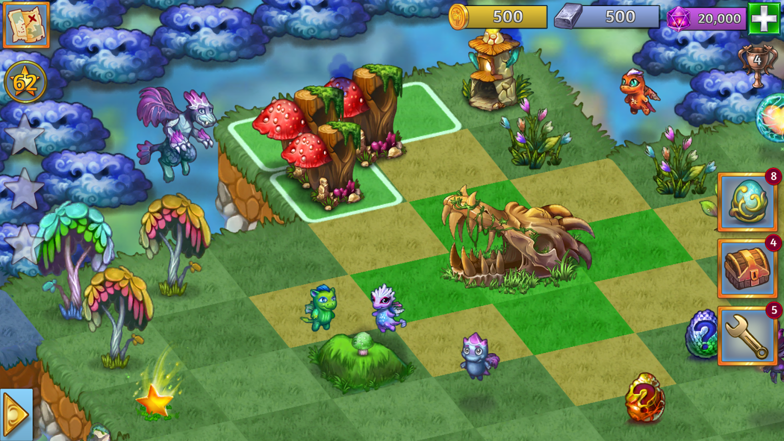 Merge Dragons!- screenshot