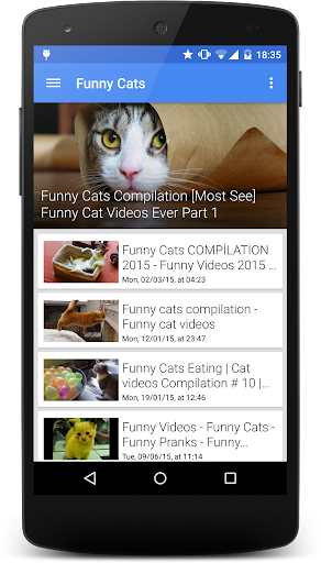 Image of: Gif Funny Cat Videos App apk Free Download For Androidpcwindows Screenshot Funny Cat Videos App apk Free Download For Androidpcwindows