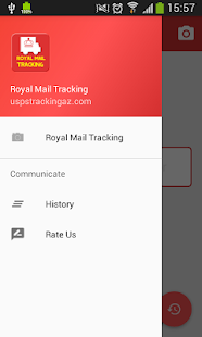 Tracking Tool On Royal Mail - náhled