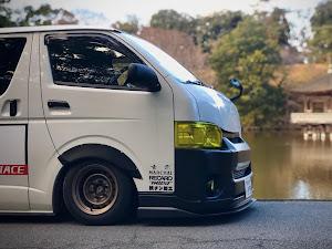 ハイエースバン TRH200V SUPER GL 2018年式のカスタム事例画像 keiji@黒バンパー愛好会さんの2020年01月30日17:22の投稿