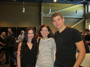 Photo: With Haven Denney and Brandon Frazier