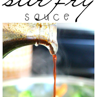 Easy Three Ingredient Stir Fry Sauce.