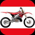 Jetting for Honda CR dirt bike icon