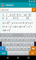 Screenshot of Fraction Calculator MathlabPRO