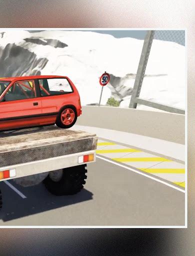 لقطات تجول BeamNG Drive Car Crash 2