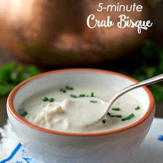 Aunt Bee's 5-Minute Crab Bisque
