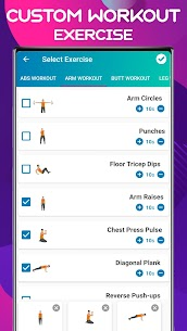 My Fitness – Home Workout App (No Equipment) Full Body Fitness 5