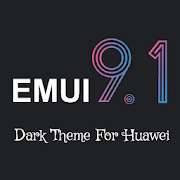 Dark Emui-9.1 Theme for Huawei