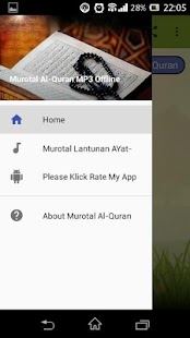 Murotal Al-Quran MP3 Offline - náhled