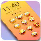Emoji Locker Slide to Unlock