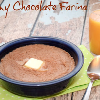 Easy Creamy Breakfast – Chocolate Farina