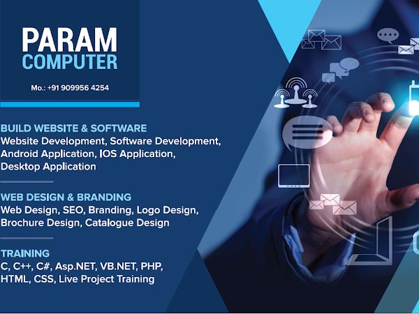 PARAM COMPUTER: Website Design | Web Development | Software