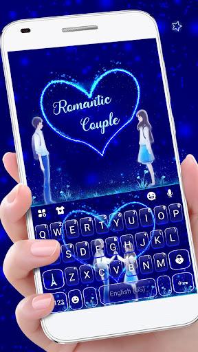 Romantic Love Keyboard Theme 1.0 screenshots 1