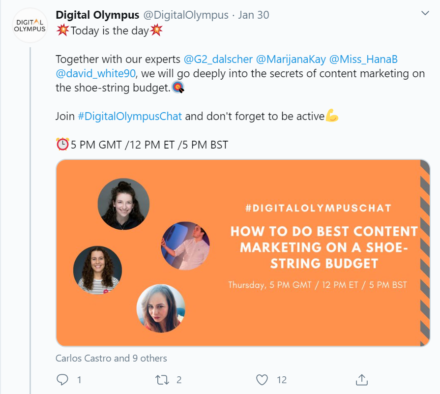 Twitter B2B marketing