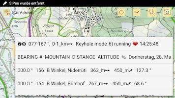 Screenshot of TrailViewer