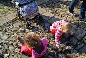 Photo: Lesní děti rozebírají dlažbu náměstí