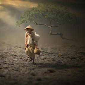 Dry River by Eli Supriyatno - Digital Art People