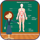 Body Parts Names and Pictures icon