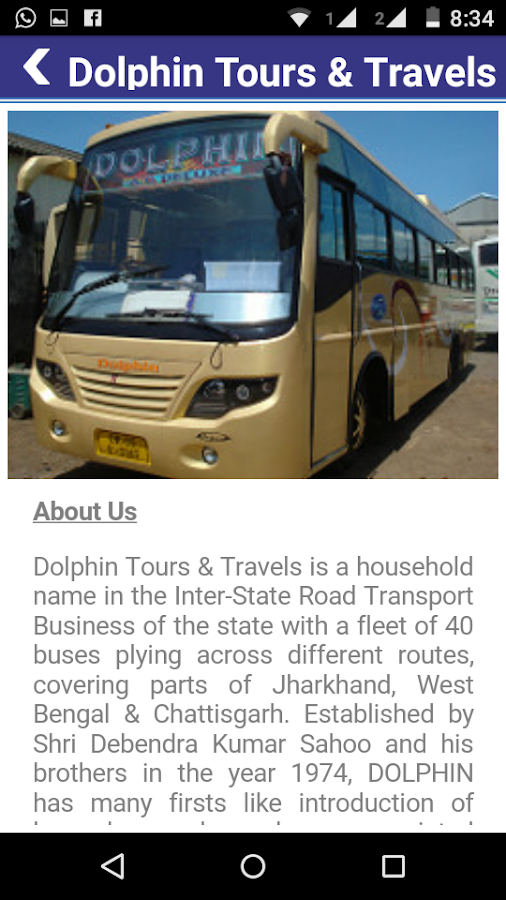 Dolphin Bus Service- screenshot
