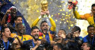 Francia celebra su segundo Mundial.