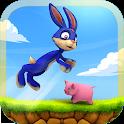 Jumping Bunny Survival Escape: Bunny Rabbit Games icon