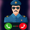 شرطه الاطفال مكالمة وهمية icon