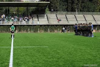Photo: Minuto de silencio por nuestro compañero y jugador de rugby Albert Figueras jugador de Els CRANCS