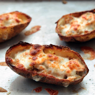 Tuna Melt Potato Skins